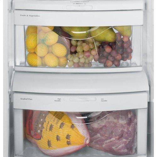 GE® ENERGY STAR® 25.4 Cu. Ft. Side-By-Side Refrigerator