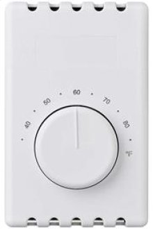 Line Voltage Wall Thermostat-White