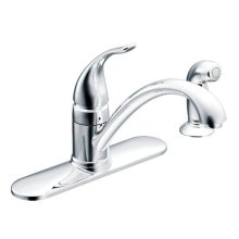 Torrance chrome one-handle kitchen faucet