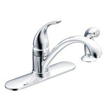 Torrance chrome one-handle kitchen faucet