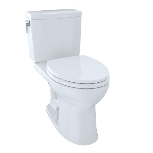Drake® II 1G Two-Piece Toilet, Elongated Bowl, 1.0 GPF - Cotton