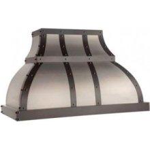 "36"" 600 CFM Designer Series Range Hood Stainless Steel"