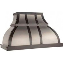 "60"" 900 CFM Designer Series Range Hood Stainless Steel"