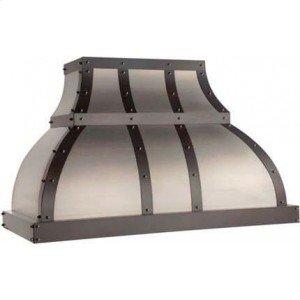 "42"" 600 CFM Designer Series Range Hood Stainless Steel"