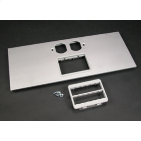 AL5200 Large Multi-Channel Raceway Duplex and Ortronics Cover Plate