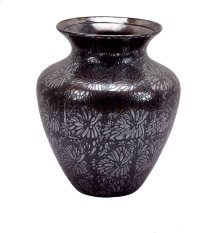 Decorative Ceramic Vase, Bronze