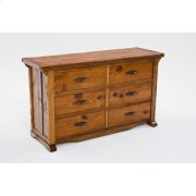 Mustang Canyon 6 Drawer Dresser Product Image