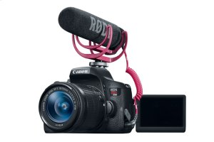Canon EOS Rebel T6i Video Creator Kit EOS Digital SLR Video Kit with Microphone & SDHC Card
