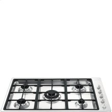 """90CM (approx. 35"""") """"Linea"""" Gas Cooktop Stainless Steel"""