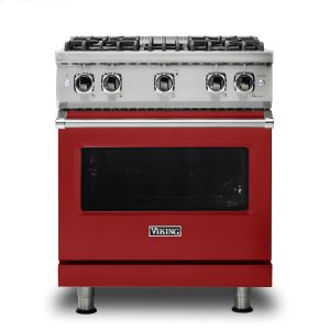 "Viking30"" Sealed Burner Gas Range, Propane Gas"