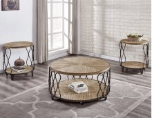 """Belcourt Cocktail Table Base w/Casters 18""""H"""