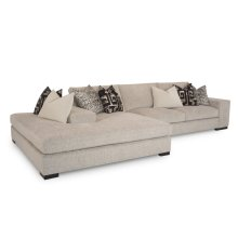Carbon 2pc Island Sectional
