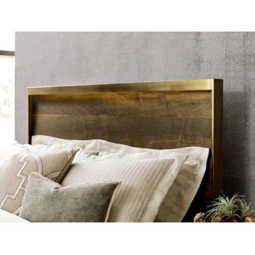 Luna Queen Panel Bed 5/0 Complete