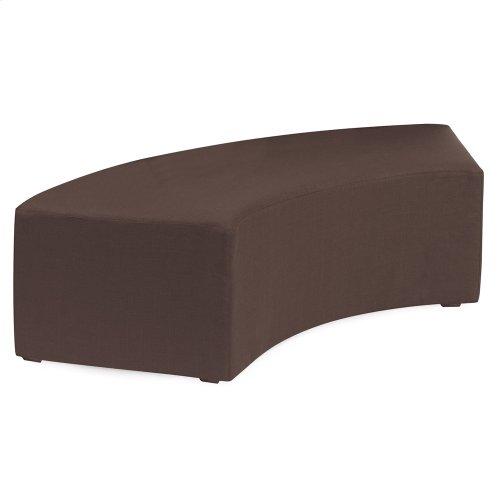 Universal Radius Bench Sterling Chocolate