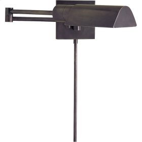Visual Comfort 92025BZ Studio 25 inch 60 watt Bronze Swing-Arm Wall Light