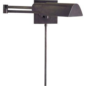 Visual Comfort 92025BZ Studio 25 inch 60 watt Bronze Swing-Arm Wall Light