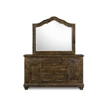 Dresser & Shaped Mirror