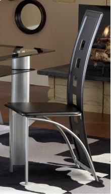Metro Metal Dinette Chair - Black