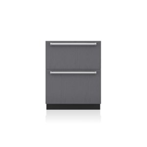 "Sub-Zero27"" Designer Refrigerator Drawers - Panel Ready"