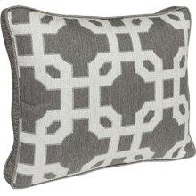 Boxed Throw Pillow