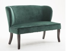Emerald Home Hepburn Loveseat Peacock Green U3329-01-08