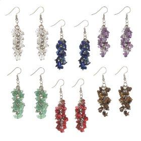 24 pr. ppk. Pebble Earrings.