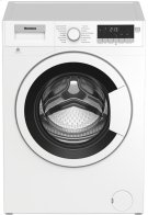 """24"""" 2.5 cu ft Front Load Washer White trim base model use with DHP24400W Product Image"""