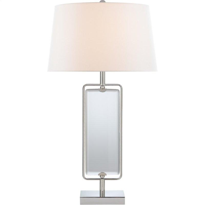 Visual Comfort Sk3035pn L Suzanne Kasler Henri 30 Inch 100 Watt Polished Nickel Table Lamp