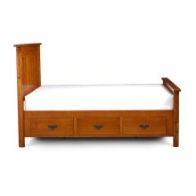 Grant Underbed Storage, 3-Drawers Each Side