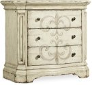 Auberose Three-Drawer Nightstand Product Image