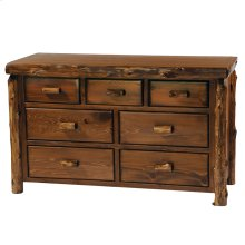 Seven Drawer Dresser - Vintage Cedar - Premium