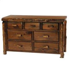 Seven Drawer Dresser - Vintage Cedar - Value