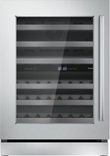 24 inch UNDER-COUNTER WINE RESERVE WITH GLASS DOOR T24UW910LS
