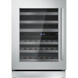 THERMADOR24 inch UNDER-COUNTER WINE RESERVE WITH GLASS DOOR T24UW910LS