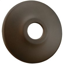 "Oil Rubbed Bronze Escutcheon 1/2"" CTS - 5/8"" OD Low Pattern 2-1/2"" OD"