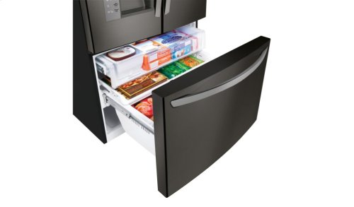 LG Black Stainless Steel Series 32 cu.ft. Mega Capacity 3-Door French Door Refrigerator