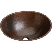 "Elkay Asana Copper 19"" x 16"" x 6-1/2"", Single Bowl Undermount Bathroom Sink"