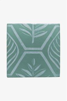 "RedBank Decorative Field Tile Maidenhair 6"" x 6"" STYLE: RNFD09"