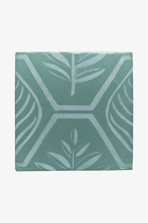 "RedBank Decorative Field Tile Maidenhair 6"" x 6"" STYLE: RNFD09"