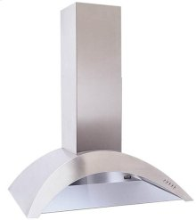 "CLOSEOUT ITEM : 35-7/16"" Stainless Range Hood with 450 CFM Internal Blower"