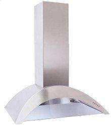 """FLOOR MODEL!!! 35-7/16"""" - Stainless Range Hood with 450 CFM Internal Blower"""