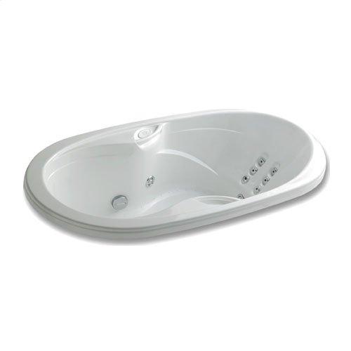 "Easy-Clean High Gloss Acrylic Surface, Oval, Whirlpool Bathtub, Premiere Package, 36"" X 66"""