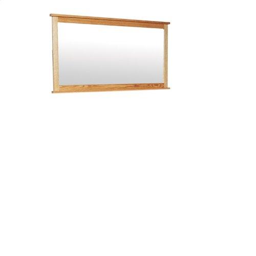 Shaker 12-Drawer Bureau Mirror, Large
