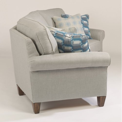 Westside Fabric Conversation Sofa