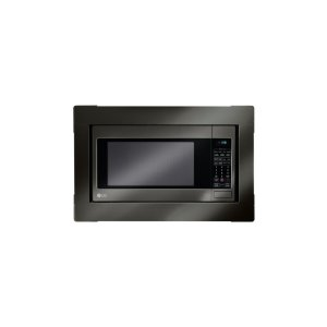 LG AppliancesLG Black Stainless Steel Series: Microwave Trim Kit