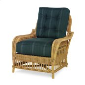 Mainland Wicker Lounge Chair W/ Button Back