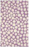 Stars Violet Loop Hooked Rugs