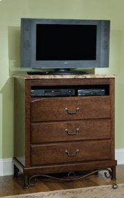 TV Chest, W/marbella Top Product Image
