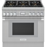 Thermador36-Inch Pro Harmony(R) Standard Depth Gas Range