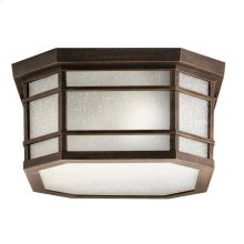 Cameron 3 Light Flush Mount Prairie Rock